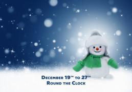 Sounds of the Holiday Season on Global Heart2Heart Radio