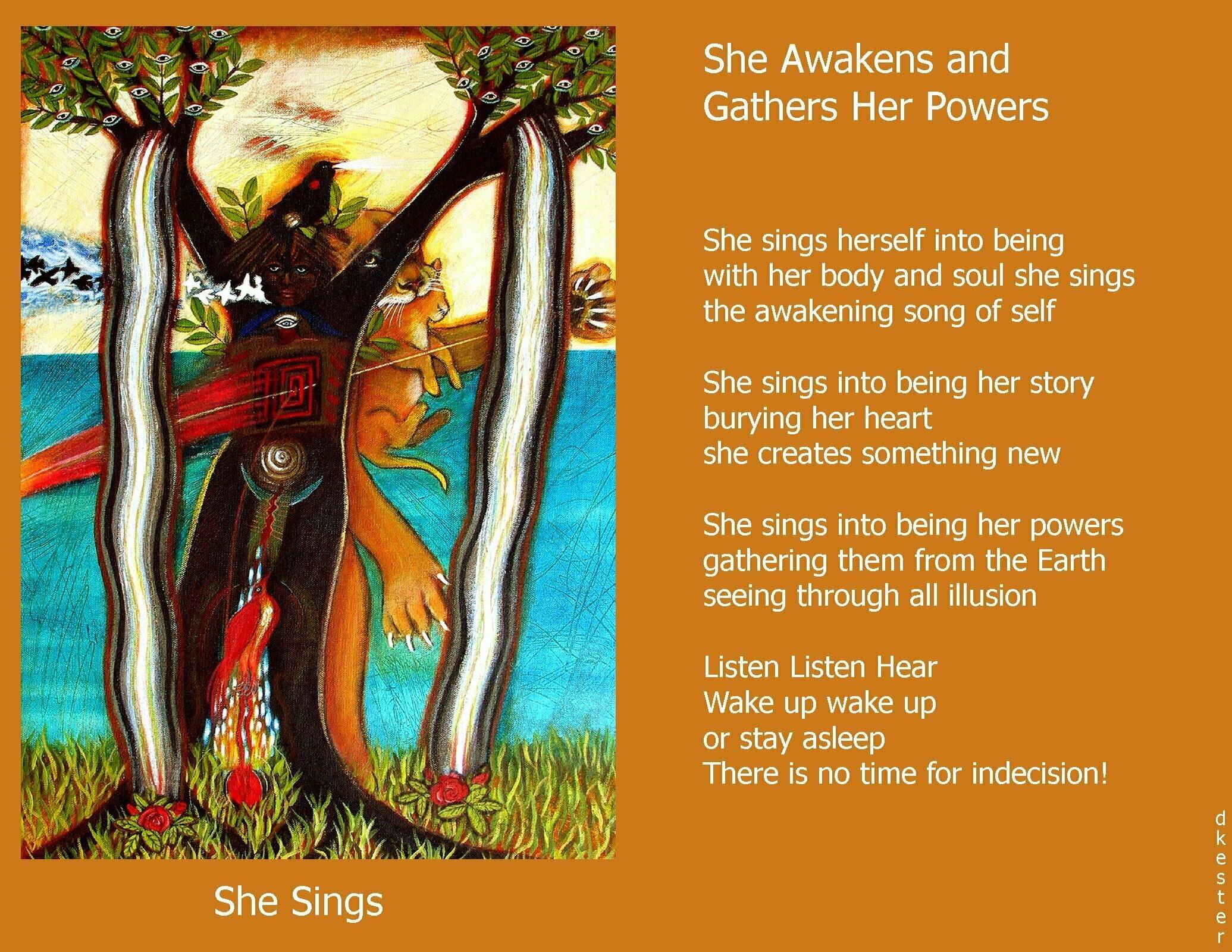 Denise Kester: She Awakens and Gathers Her Powers