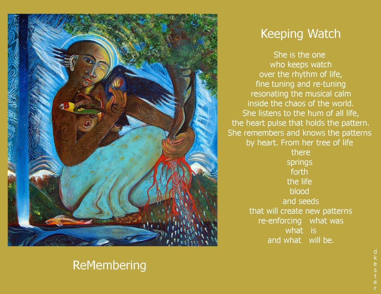 Denise Kester: Keeping Watch