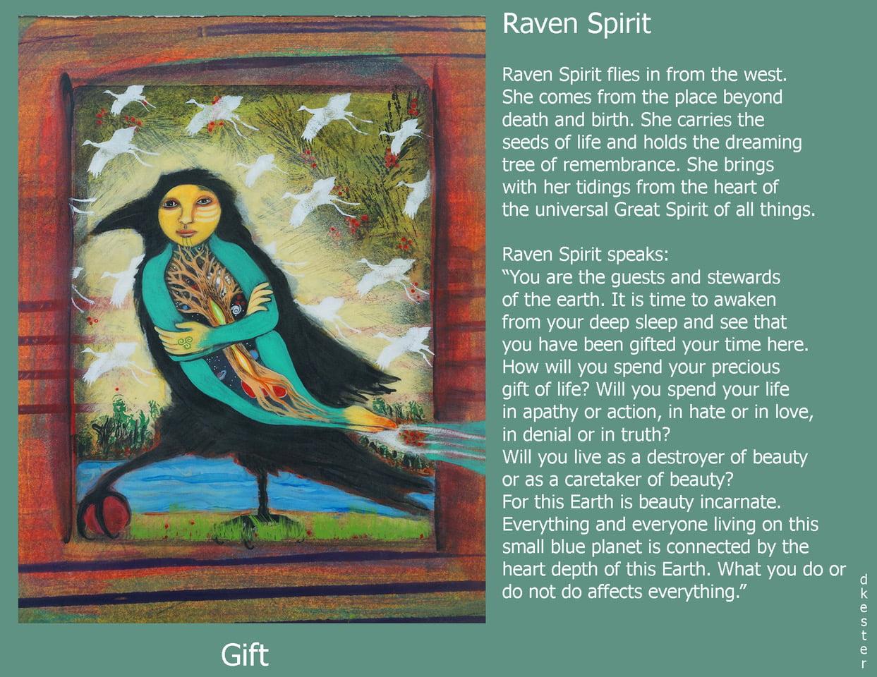 Denise Kester: Raven Spirit