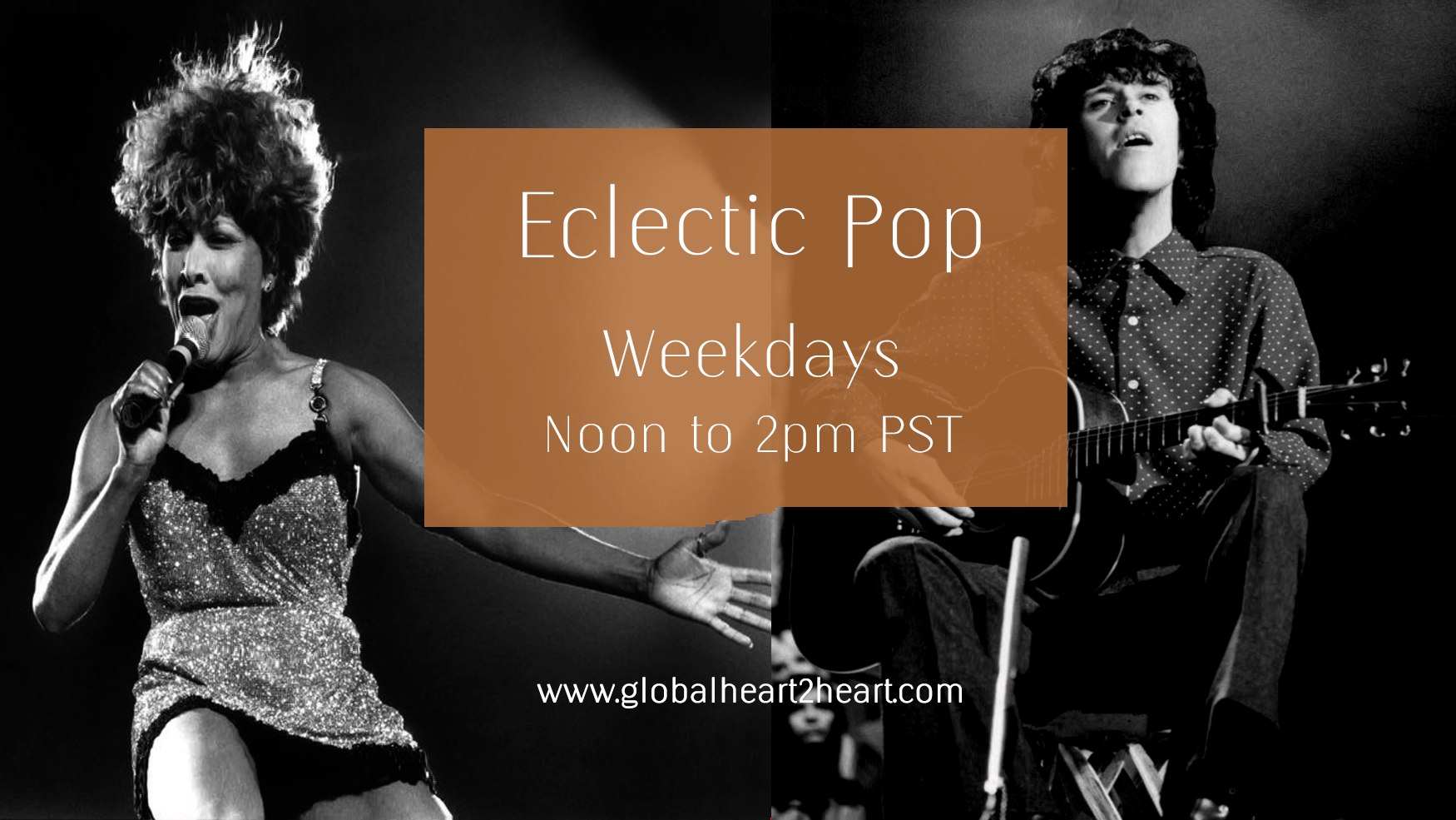 Eclectic Pop Noon to 2 pm PST