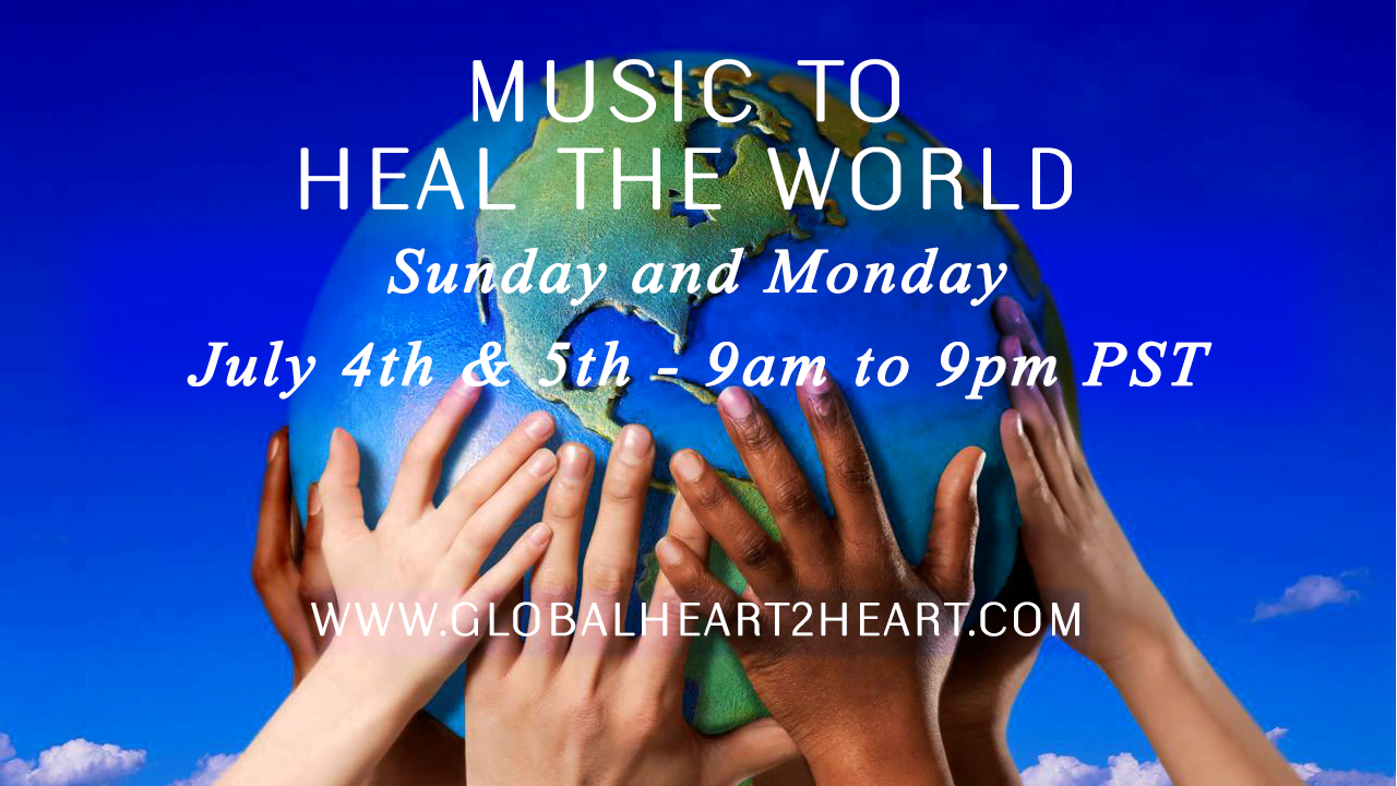 Celebrate your Independence DayMusic to Heal the World