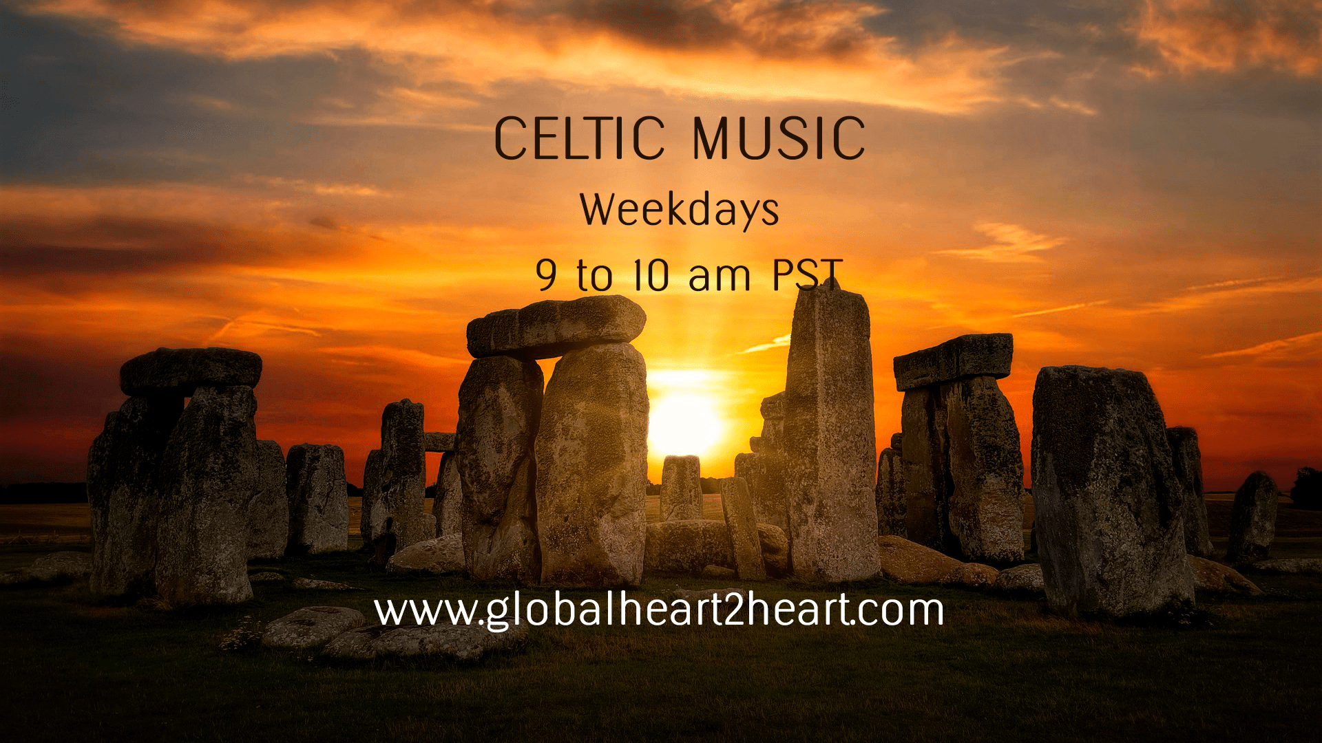 Celtic Music 9to10amPST