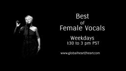 Female Vocals 130 to 3pmPST