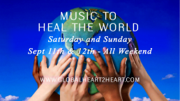 Music to Heal the World this Weekend