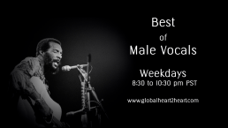 Male Vocals on global heart 2 heart radio